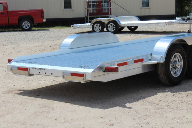 2020 Featherlite 3110 20' Open Aluminum Bumper Pull Car Trailer CONROE, TX 13