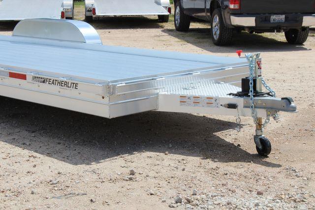 2020 Featherlite 3110 20' Open Aluminum Bumper Pull Car Trailer CONROE, TX 2