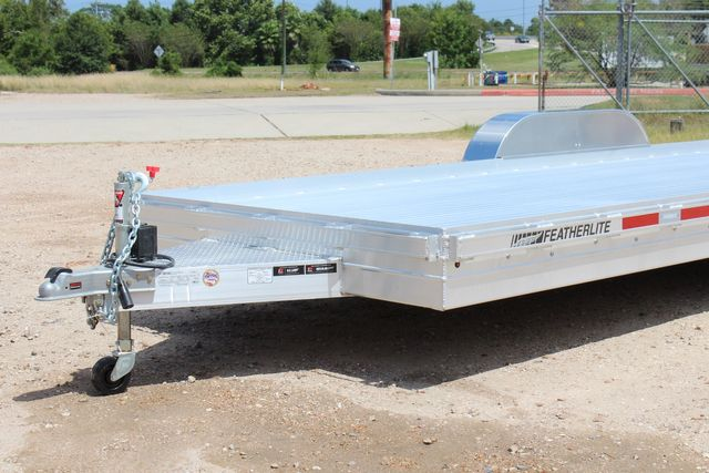 2020 Featherlite 3110 20' Open Aluminum Bumper Pull Car Trailer CONROE, TX 4