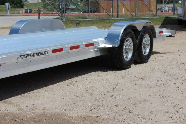2020 Featherlite 3110 20' Open Aluminum Bumper Pull Car Trailer CONROE, TX 5