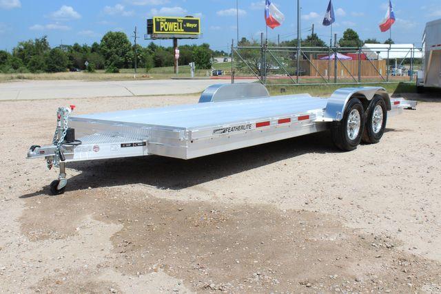 2020 Featherlite 3110 20' Open Aluminum Bumper Pull Car Trailer CONROE, TX 6