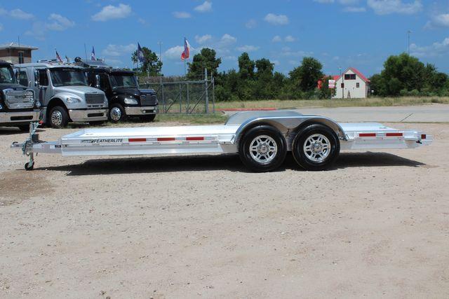 2020 Featherlite 3110 20' Open Aluminum Bumper Pull Car Trailer CONROE, TX 7