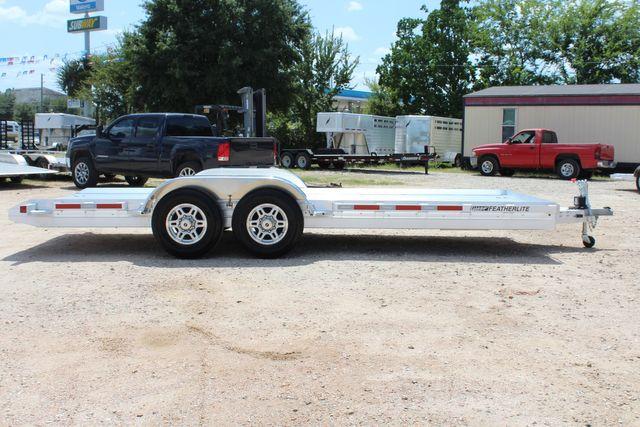 2020 Featherlite 3110 20' Open Aluminum Bumper Pull Car Trailer CONROE, TX 16