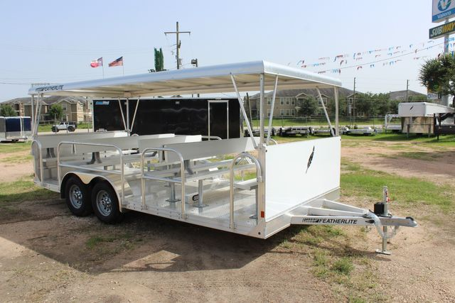 2021 Featherlite 3115 - TRAM TRAM TRAILER, 4.8K AXLES, ALUM SEAT, REMOVABLE TOP CONROE, TX 26