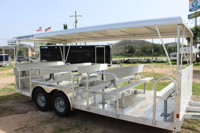 2021 Featherlite 3115 - TRAM TRAM TRAILER, 4.8K AXLES, ALUM SEAT, REMOVABLE TOP CONROE, TX 1