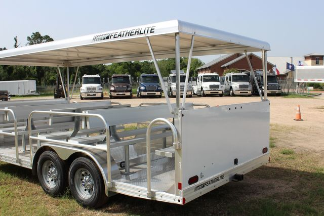 2021 Featherlite 3115 - TRAM TRAM TRAILER, 4.8K AXLES, ALUM SEAT, REMOVABLE TOP CONROE, TX 15