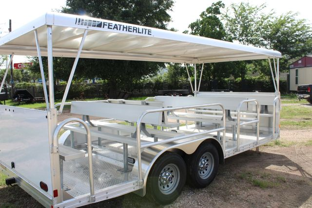 2021 Featherlite 3115 - TRAM TRAM TRAILER, 4.8K AXLES, ALUM SEAT, REMOVABLE TOP CONROE, TX 19