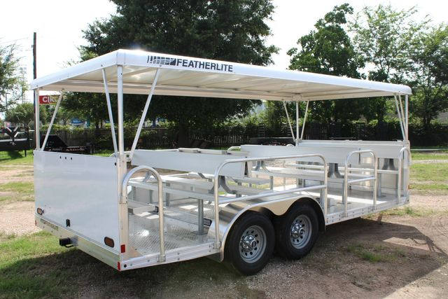 2021 Featherlite 3115 - TRAM TRAM TRAILER, 4.8K AXLES, ALUM SEAT, REMOVABLE TOP CONROE, TX 20