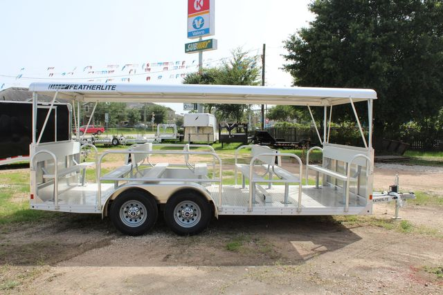 2021 Featherlite 3115 - TRAM TRAM TRAILER, 4.8K AXLES, ALUM SEAT, REMOVABLE TOP CONROE, TX 21