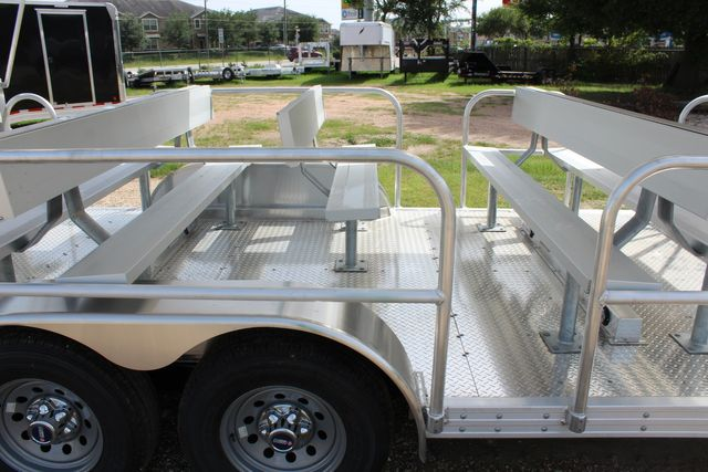 2021 Featherlite 3115 - TRAM TRAM TRAILER, 4.8K AXLES, ALUM SEAT, REMOVABLE TOP CONROE, TX 24