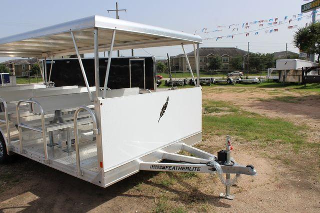 2021 Featherlite 3115 - TRAM TRAM TRAILER, 4.8K AXLES, ALUM SEAT, REMOVABLE TOP in Conroe, TX 77384