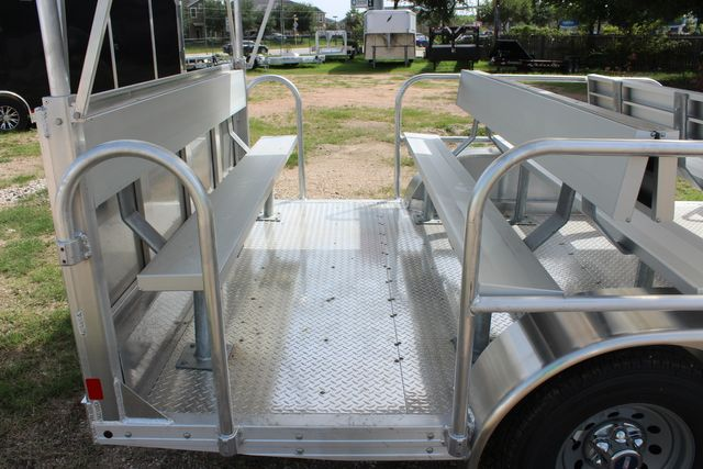 2021 Featherlite 3115 - TRAM TRAM TRAILER, 4.8K AXLES, ALUM SEAT, REMOVABLE TOP CONROE, TX 25