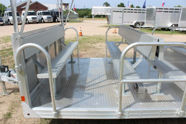 2021 Featherlite 3115 - TRAM TRAM TRAILER, 4.8K AXLES, ALUM SEAT, REMOVABLE TOP CONROE, TX 10