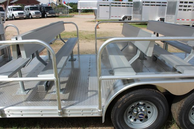 2021 Featherlite 3115 - TRAM TRAM TRAILER, 4.8K AXLES, ALUM SEAT, REMOVABLE TOP CONROE, TX 11