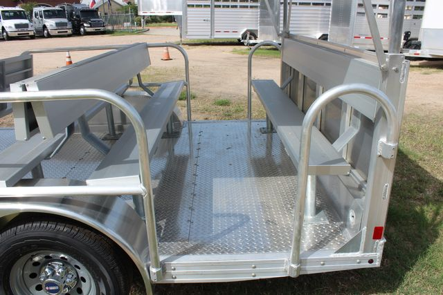 2021 Featherlite 3115 - TRAM TRAM TRAILER, 4.8K AXLES, ALUM SEAT, REMOVABLE TOP CONROE, TX 12