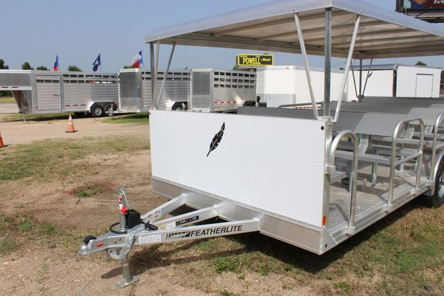 2021 Featherlite 3115 - TRAM TRAM TRAILER, 4.8K AXLES, ALUM SEAT, REMOVABLE TOP CONROE, TX 6