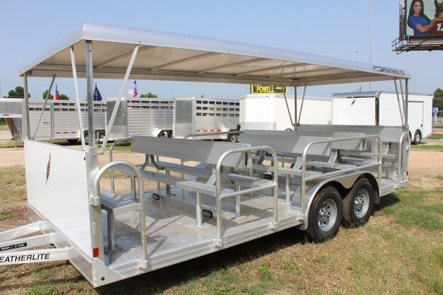 2021 Featherlite 3115 - TRAM TRAM TRAILER, 4.8K AXLES, ALUM SEAT, REMOVABLE TOP CONROE, TX 7