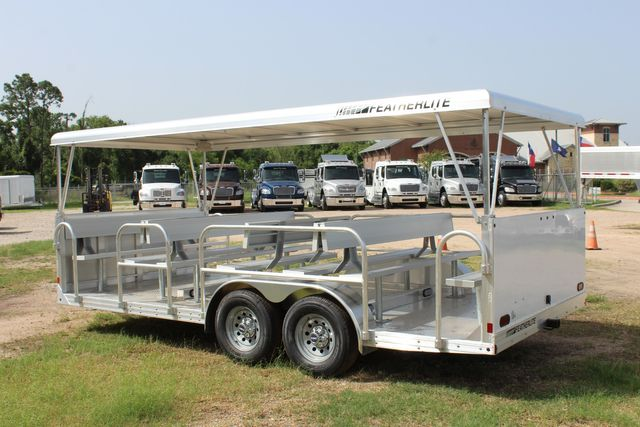 2021 Featherlite 3115 - TRAM TRAM TRAILER, 4.8K AXLES, ALUM SEAT, REMOVABLE TOP CONROE, TX 13