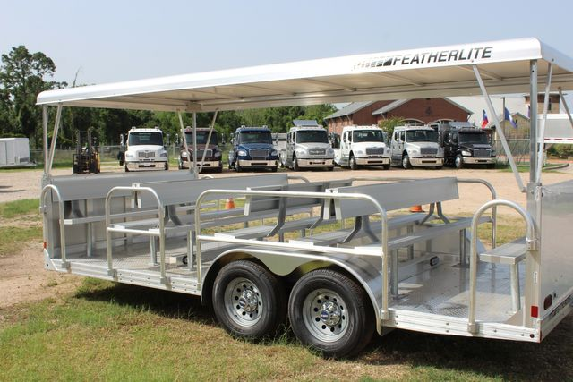 2021 Featherlite 3115 - TRAM TRAM TRAILER, 4.8K AXLES, ALUM SEAT, REMOVABLE TOP CONROE, TX 14