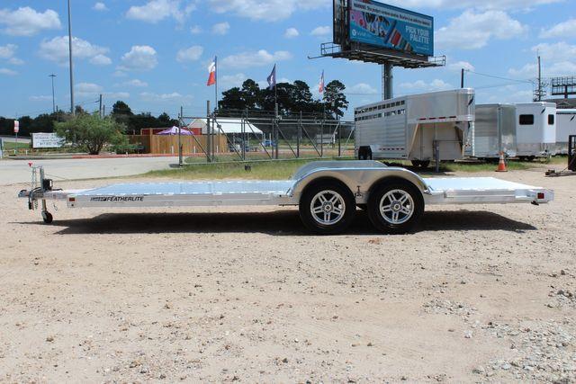 2021 Featherlite 3182 - 20 Bumper Pull 20' Open Car Trailer All Aluminum CONROE, TX 8