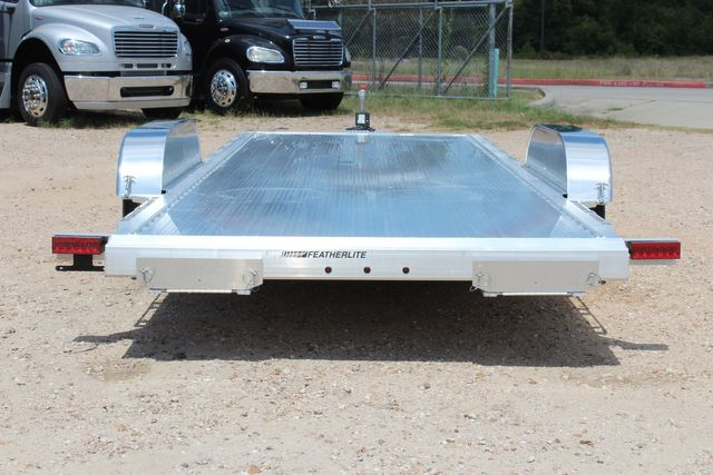 2021 Featherlite 3182 - 20 Bumper Pull 20' Open Car Trailer All Aluminum CONROE, TX 12