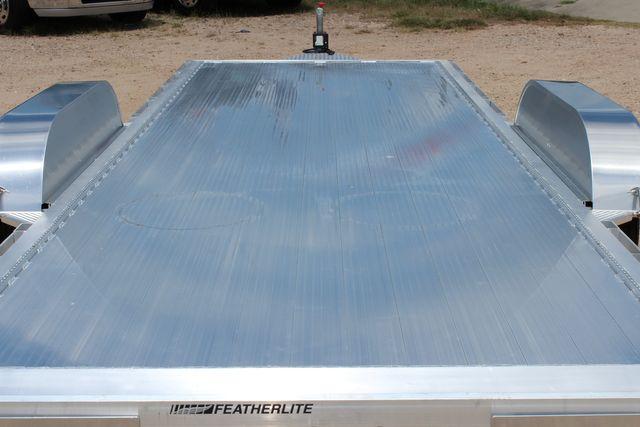2021 Featherlite 3182 - 20 Bumper Pull 20' Open Car Trailer All Aluminum CONROE, TX 13