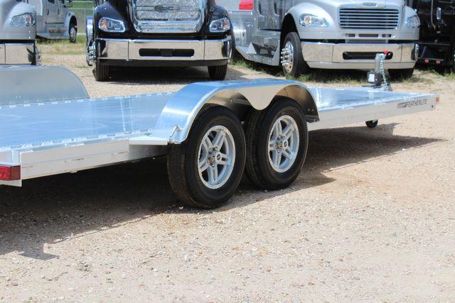 2021 Featherlite 3182 - 20 Bumper Pull 20' Open Car Trailer All Aluminum CONROE, TX 16