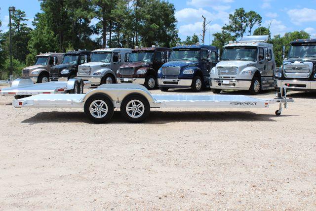2021 Featherlite 3182 - 20 Bumper Pull 20' Open Car Trailer All Aluminum CONROE, TX 18