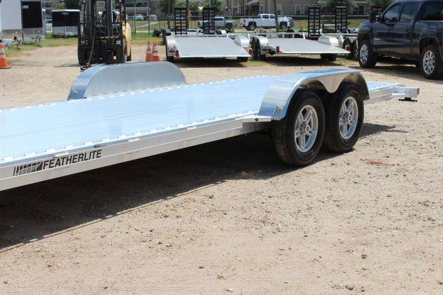 2021 Featherlite 3182 - 20 Bumper Pull 20' Open Car Trailer All Aluminum CONROE, TX 5