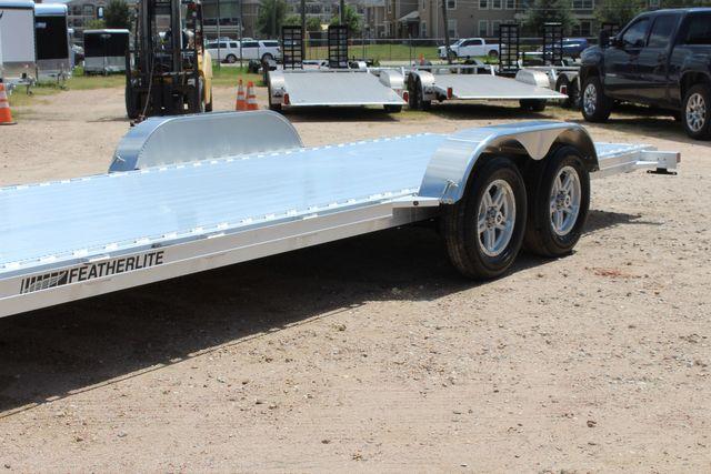 2021 Featherlite 3182 - 20 Bumper Pull 20' Open Car Trailer All Aluminum CONROE, TX 6