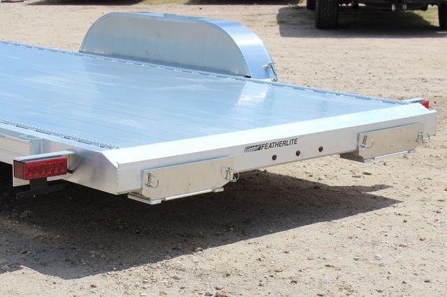 2021 Featherlite 3182 18' BUMPER PULL OPEN CAR TRAILER CONROE, TX 11