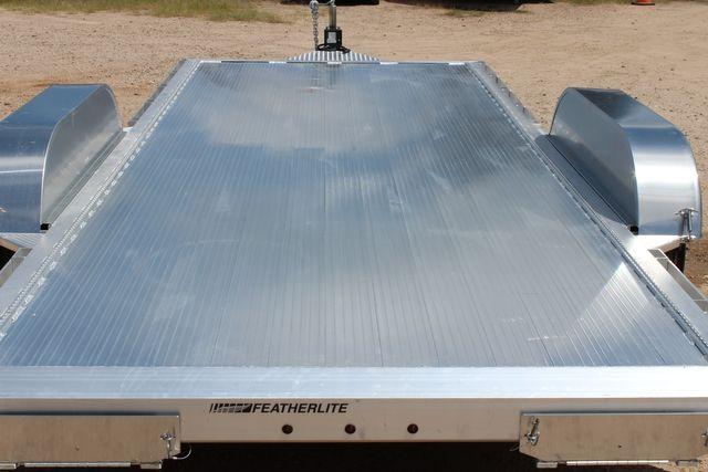 2021 Featherlite 3182 18' BUMPER PULL OPEN CAR TRAILER CONROE, TX 13