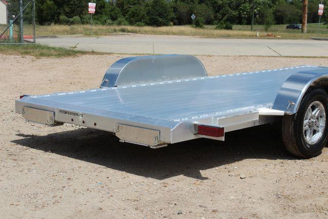 2021 Featherlite 3182 18' BUMPER PULL OPEN CAR TRAILER CONROE, TX 14