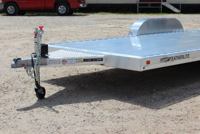 2021 Featherlite 3182 18' BUMPER PULL OPEN CAR TRAILER CONROE, TX 4
