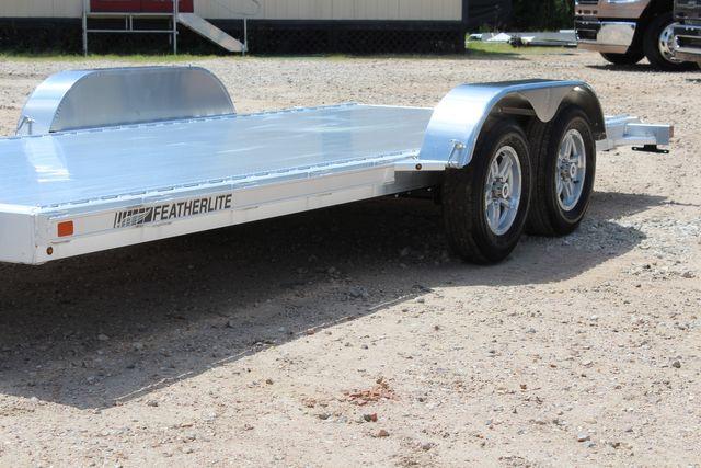 2021 Featherlite 3182 18' BUMPER PULL OPEN CAR TRAILER CONROE, TX 5