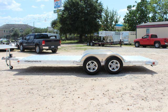 2021 Featherlite 3182 18' BUMPER PULL OPEN CAR TRAILER CONROE, TX 7