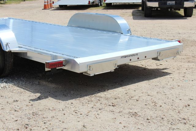 2021 Featherlite 3182 18' BUMPER PULL OPEN CAR TRAILER CONROE, TX 10