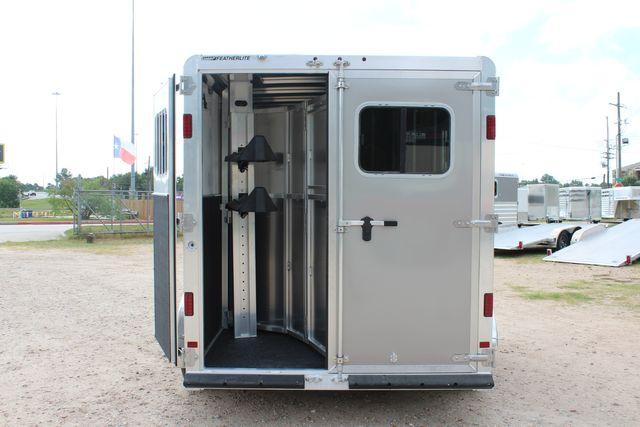 2021 Featherlite 7441 - 2H Slant Two Horse slant load bumper pull aluminum trailer CONROE, TX 13