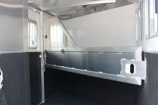 2021 Featherlite 7441 - 2H Slant Two Horse slant load bumper pull aluminum trailer CONROE, TX 15