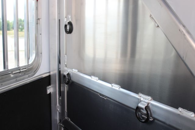 2021 Featherlite 7441 - 2H Slant Two Horse slant load bumper pull aluminum trailer CONROE, TX 17
