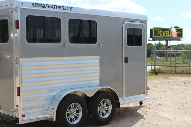 2021 Featherlite 7441 - 2H Slant Two Horse slant load bumper pull aluminum trailer CONROE, TX 19