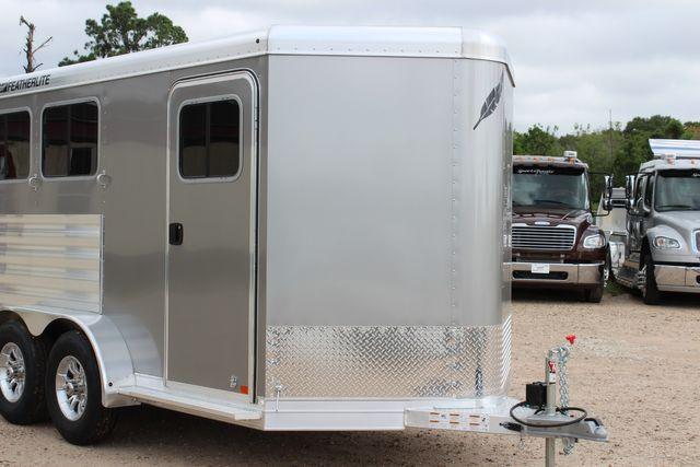 2021 Featherlite 7441 - 2H Slant Two Horse slant load bumper pull aluminum trailer CONROE, TX 2