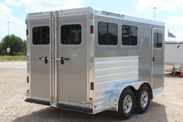 2021 Featherlite 7441 - 2H Slant Two Horse slant load bumper pull aluminum trailer CONROE, TX 20