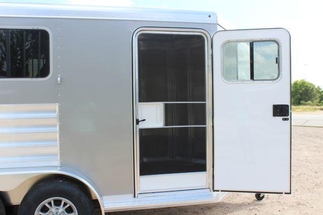 2021 Featherlite 7441 - 2H Slant Two Horse slant load bumper pull aluminum trailer CONROE, TX 22