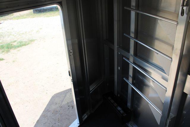 2021 Featherlite 7441 - 2H Slant Two Horse slant load bumper pull aluminum trailer CONROE, TX 27