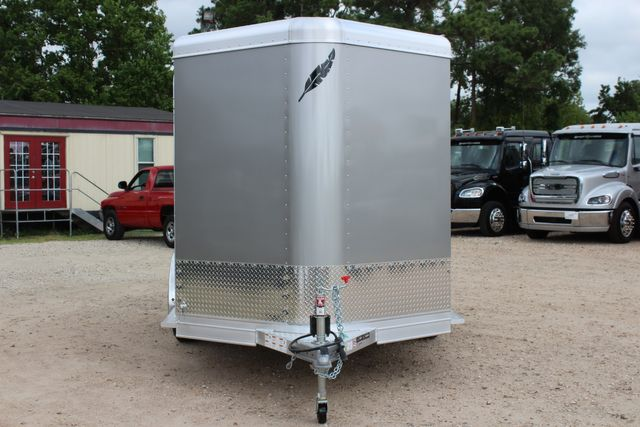 2021 Featherlite 7441 - 2H Slant Two Horse slant load bumper pull aluminum trailer CONROE, TX 3