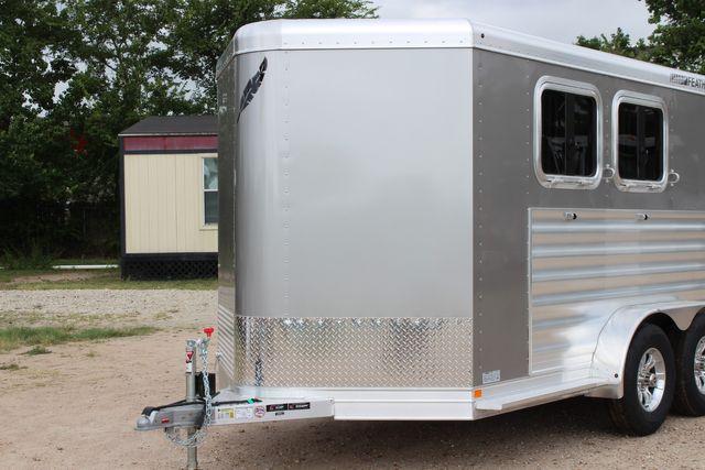 2021 Featherlite 7441 - 2H Slant Two Horse slant load bumper pull aluminum trailer CONROE, TX 4