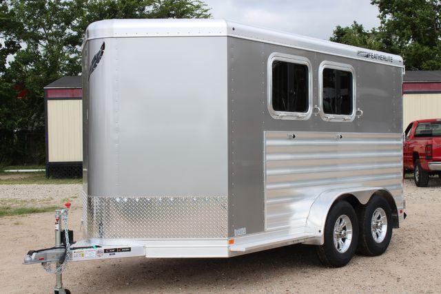 2021 Featherlite 7441 - 2H Slant Two Horse slant load bumper pull aluminum trailer CONROE, TX 6