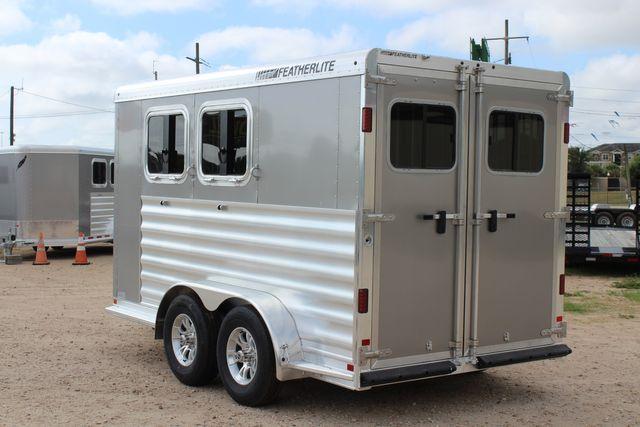 2021 Featherlite 7441 - 2H Slant Two Horse slant load bumper pull aluminum trailer CONROE, TX 9