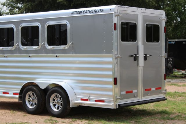 2021 Featherlite 7441 - 3 HORSE SLANT Three Horse Slant CONROE, TX 10